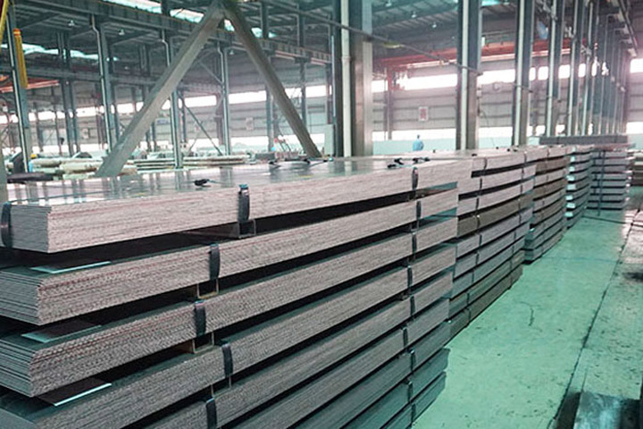 EN 10025-5 S355J0WP steel flats supplier