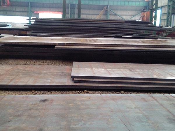 What are the operation principles to be followed in the S235J0W round bar corten steel plate cutting process