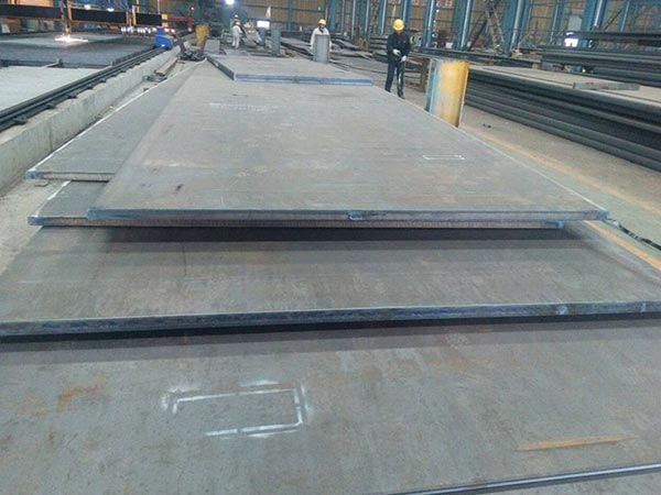 What is the hardest en 10025 s355j2w structural steel material?
